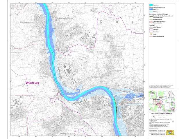 Hochwasserrisikomanagementplan bayerischer Main [mehr]