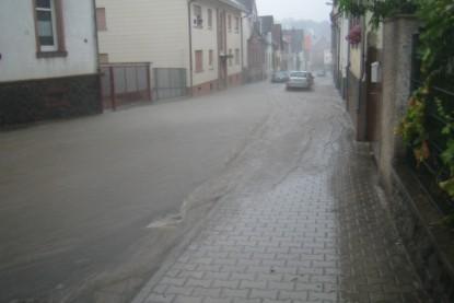 Ueberflutung