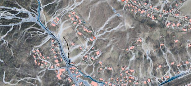 Starkregensimulation - Kopplung Kanalnetz - Verdolung